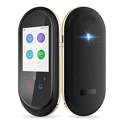Leobtain Language Translator Device - Portable AI Intelligent Translation Machine Real-Time Translator with Camera 106 Languages for Travel Business Negotiation