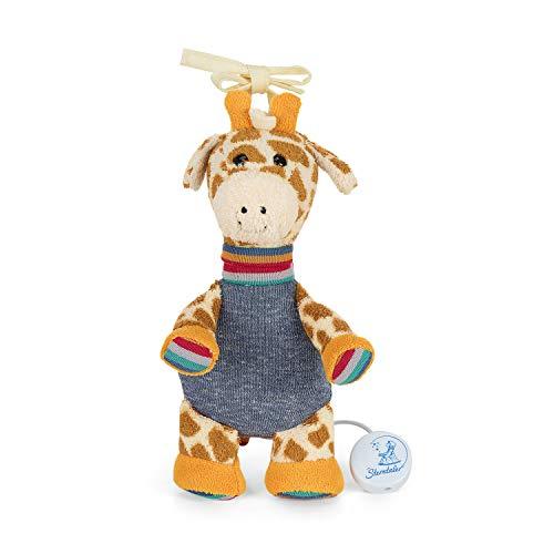 Sterntaler Mädchen Spieluhr Kuschelzoo, Stofftier Giraffe Greta, Integriertes Spielwerk, Größe: S, Bunt