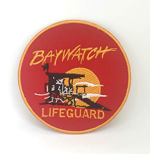 Baywatch badpak badmeester logo Iron-on geborduurde patch