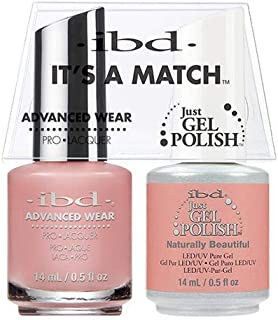 ibd Advanced Wear Color Duo Naturally Beautiful #482 UV Gel Color