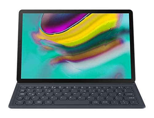 Book Cover Keyboard for Galaxy Tab S5E Black