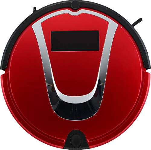 E-KIA Robot Aspirador Aspiradoras Sin Cable SuccióN Alta con Brocha Batidora, Autocarga AutomáTica, Sensor De CaíDa, Funciona En Pisos Duros Y Alfombras