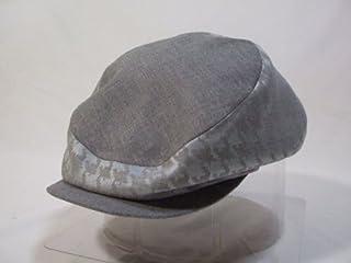 telco帽子 千鳥グレーハンチング サイズ58