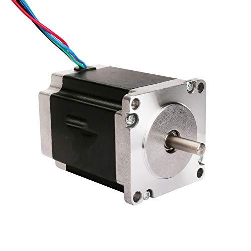 ACT Motor GmbH, motore passo-passo NEMA 23, 1 pezzo, motorestepper 23HS8430, 3,0A, 76mm, 1,9Nm, per CNC, per macchine industriali automatiche
