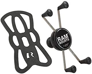 Ram Mount Universal X-Grip IV Large Phone/Phablet Holder with 1-Inch Ball - Non-Retail Packaging - Black