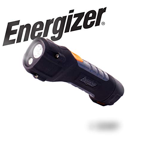 Energizer LED AA Flashlight, Hard Case Professional ProjectPlus Light, 11 Hour Run Time, 400 Lumens (Batteries Included)