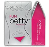 Betty Beauty Fun (Hot Pink) Betty - Color for The Hair Down There Hair Coloring Kit