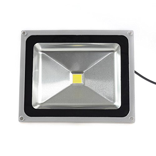 LOFTEK LED Flood lights, 50W LED Spotlight Flood Light High Power Outdoor Wall Cool White by Loftek