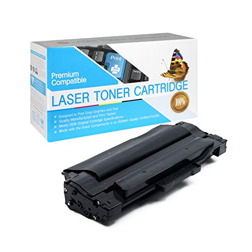 SuppliesOutlet Compatible Toner Cartridge Replacement for Samsung MLT-D105L for Use with ML-2525W (Black,1 Pack)