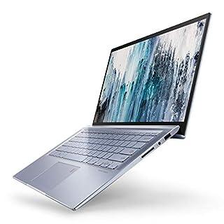 "ASUS ZenBook 14 Ultra Thin & Light Laptop, 4-Way NanoEdge 14"" Full HD, Intel Core I5-8265U, 8GB RAM, 256GB Nvme PCIe SSD, Wi-Fi 5, Windows 10, Silver Blue, UX431FA-ES51 (B07NZ8HBBK)   Amazon price tracker / tracking, Amazon price history charts, Amazon price watches, Amazon price drop alerts"