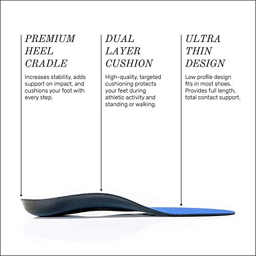 Full-Length Powerstep Orthotic Shoe Insoles