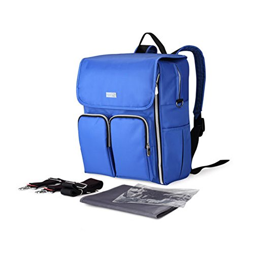 Yimidear Multifunzionale impermeabile zaino borsa per cambio neonato, tracolla, fasciatorio e trasporto a mano