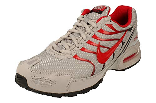 Nike Mens Air max Torch 4 Running Shoes (Atmosphere Grey/University Red/Black, Numeric_7_Point_5)