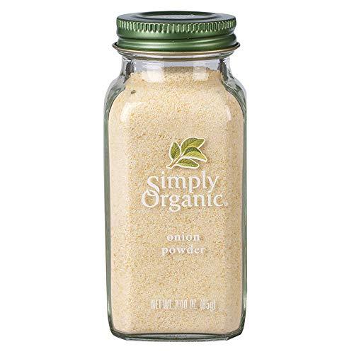 Simply Organic White Onion Powder, Certified Organic | 3 oz | Allium cepa