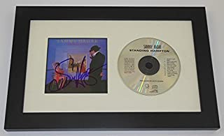 Sammy Hagar Standing Hampton Authentic Signed Autographed Music Cd Cover Compact Disc Framed Display Loa