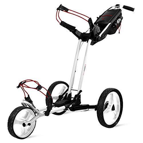 Sun Mountain Pathfinder 3 Golf Push Cart White