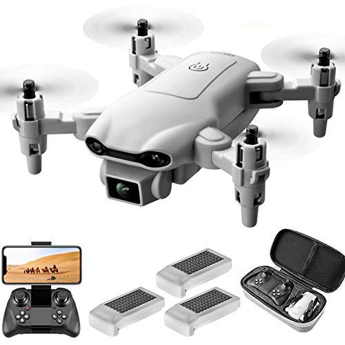 JJDSN Mini Drones con cámara 4k para niños de 8-12 15 Minutos Tiempo de Vuelo Dron de Juguete Despegue y Aterrizaje con una tecla Modo sin Cabeza Fácil de dominar Protección Completa