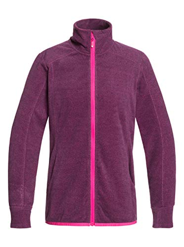 Roxy Damen Harmony-Fleece mit Stehkragen und Reißverschluss, Beetroot pink, L