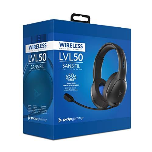 PDP LVL50 Wireless Headset Kopfhörer Drahtlose Verbindung für PlayStation 4
