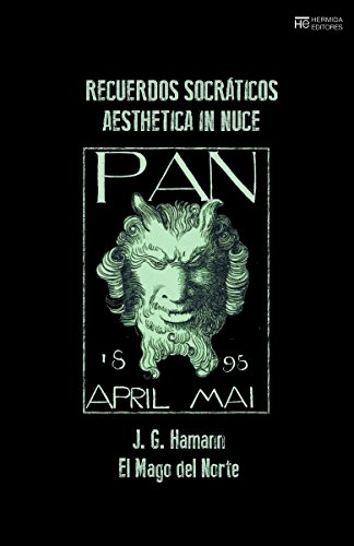 Recuerdos socráticos : aesthetica in nuce (El Jardín de Epicuro, Band 58)