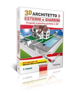 3D ARCHITETTO 3 ESTERNI E GIARDINI