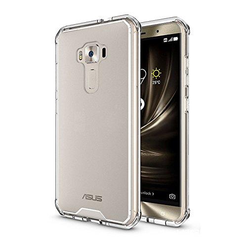 BLUGUL Funda ASUS ZenFone 3 ZE552KL, Bolsa de Gas, Prueba de Choque, Resistente a la Rotura PMMA, Cover para ASUS ZenFone 3 ZE552KL Transparente