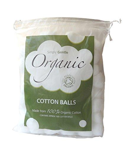 Simply Gentle Organic Coton Paquet de 100 Boules (Lot de 3 - 300 Boules)