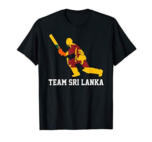 Team Sri Lanka Cricket 2019 Sri Lanka Flag T-shirt