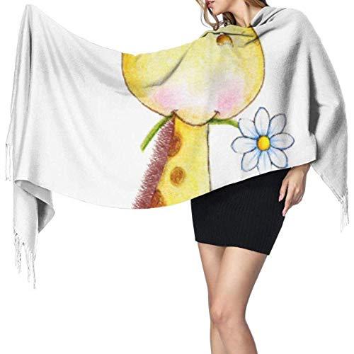 Cool giraf baby kids dierenjaals kasjmier sjaals kasjmier voor vrouwen sjaals kasjmier voor vrouwen grote zachte pashmina
