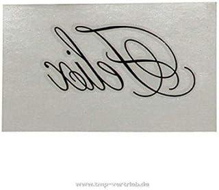 1 x FELIX tattoo als naam - naamplaatje