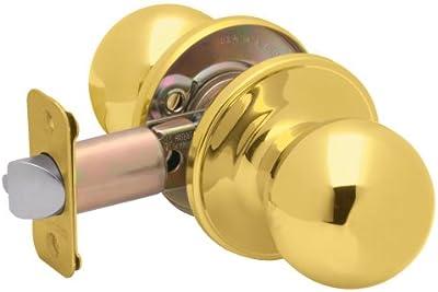 Dexter by Schlage J10VCNA605 Corona Passage Knob, Bright Brass