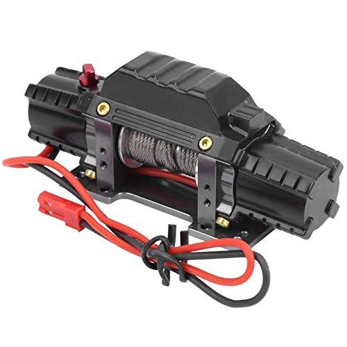 GXX Cabrestante Metálico De Doble Motor RC con Interruptor De Tercer Canal, Apto para Traxxas/Hsp/Redcat/Tamiya/Axial Scx10 D90 / Hpi 1/8
