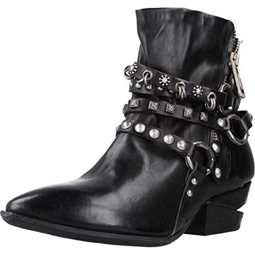 A.S.98 Airstep Damen Dianette Leder Sandale Zehentrenner Schuhe Dunkelblau Schuhgröße EUR 38