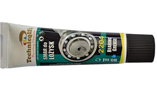 Technicqll 100ml lubricante grasa sintética para rodamientos articulaciones eléctrico motores ventiladores 100ml