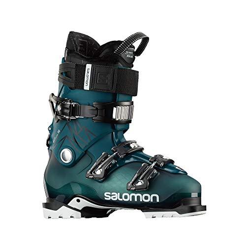 SALOMON Botas Alpinas QST Access 90, esquí Hombre, Blue/Black/W, 44/45 EU