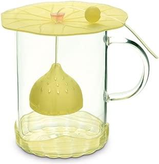 Charles Viancin Lily Pad Tea Infuser Set - Single Serve Tea Maker