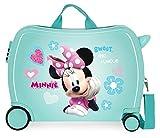 Disney Minnie Fabulous Correpasillos Maleta de Cabina Infantil Turquesa 50x39x20...