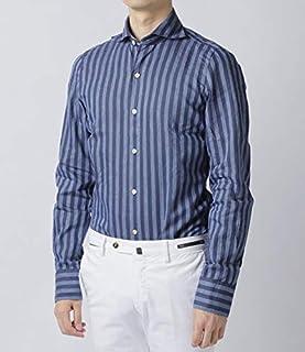 Finamore(フィナモレ) シャツ メンズ TOKIO コットンリネンストライプシャツ SIMONE-980191 [並行輸入品]