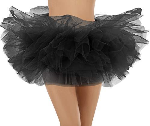 Bridesmay dames tule rok mini rok 6 lagen petticoat korte ballet dans jurk slip