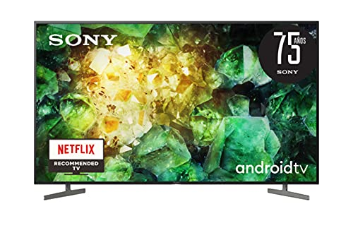 Sony KD-55XH8196 - HDR Android TV (procesador X1 4K HDR, Triluminos, X-Reality PRO, MotionFlow XR, X-Balanced Speaker, Dolby...