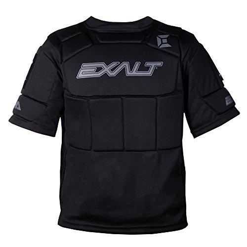 Exalt Alpha Chest Protector - Black, Größe:L/XL