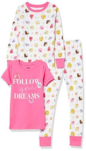 Spotted Zebra Disney Star Wars Marvel Frozen Princess Snug-fit Cotton Pajamas Sleepwear Sets Pajama-Sets Fille