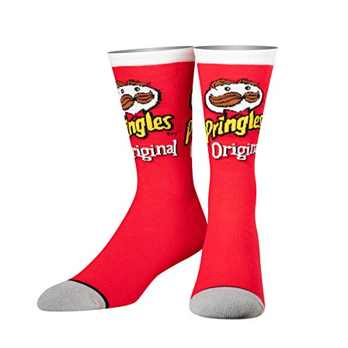Cool Socks, Unisex Essen, Pringles Crisp, Crew, Retro Neuheit Lustig Silly Crazy - -