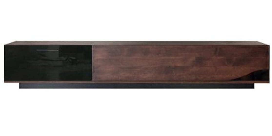 通常違うルー大川家具 東馬 ローボード クアトロ ブラウン 180cm幅