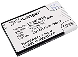 Replacement Battery for AT&T Velocity 4G LTE for ZTE MF923 Velocity Li3723T42P3h794977 LI3728T42P3H794977