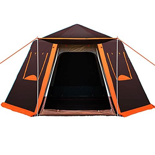 XZZ Carpa para Acampar, 2-5 Personas Carpa Domo Ultraligera, Impermeable, con Poste De Aluminio para Carpa Carpa para 3-4 Estaciones, Compacta, para Viajes Familiares, Playa, Camping Y Al Aire Libre