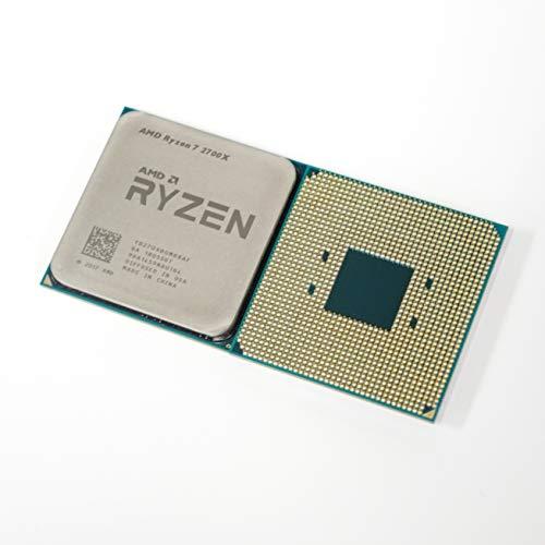 AMD Ryzen 2ª generación 7 2700X - 4.3 GHz ocho núcleos (YD270XBGM88AF) Procesador OEM VER con paquete de pasta térmica