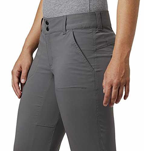Columbia Women's Standard Saturday Trail Stretch Pant, City Grey, 8