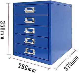 Classeurs Cabinet de Dossier en Acier, Accueil tiroirs Armoire de Rangement, PC de Bureau, fichier Plastique Boîte de Rang...