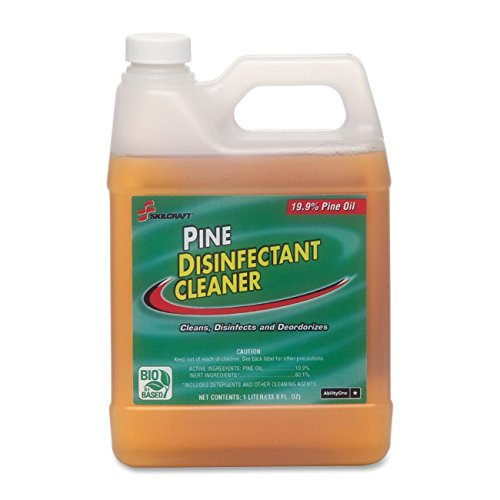Skilcraft Pine Disinfectant Cleaner 6840-01-342-4143 Case of 24